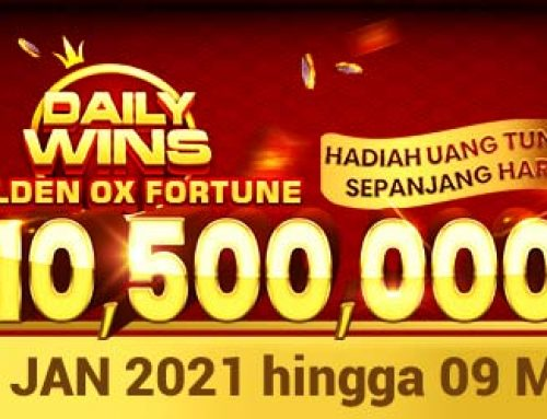 Promo Daily Wins Golden Ox Fortune